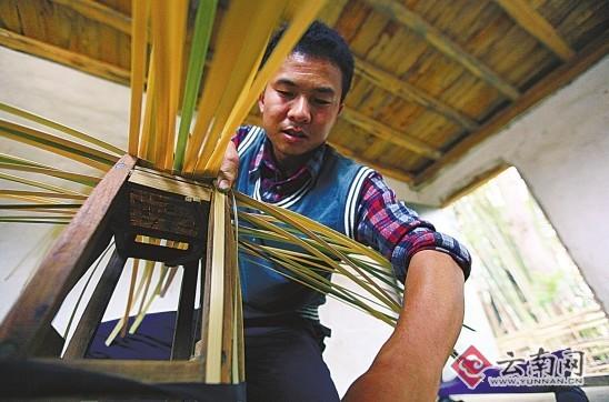 竹子编织法大全图解