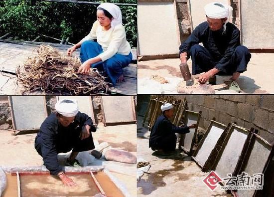 """傣族传统造纸工艺成边疆村寨致富新""""法宝"""""""